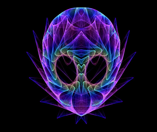 amazing rainbow fractal art - photo #23